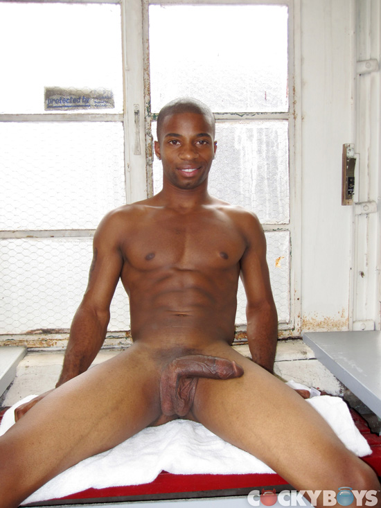 CockyBoys JJ Hardy Big Black Cock 10 Amateur Young Black Guy Jerks His HUGE Black Cock and Squirts Cum