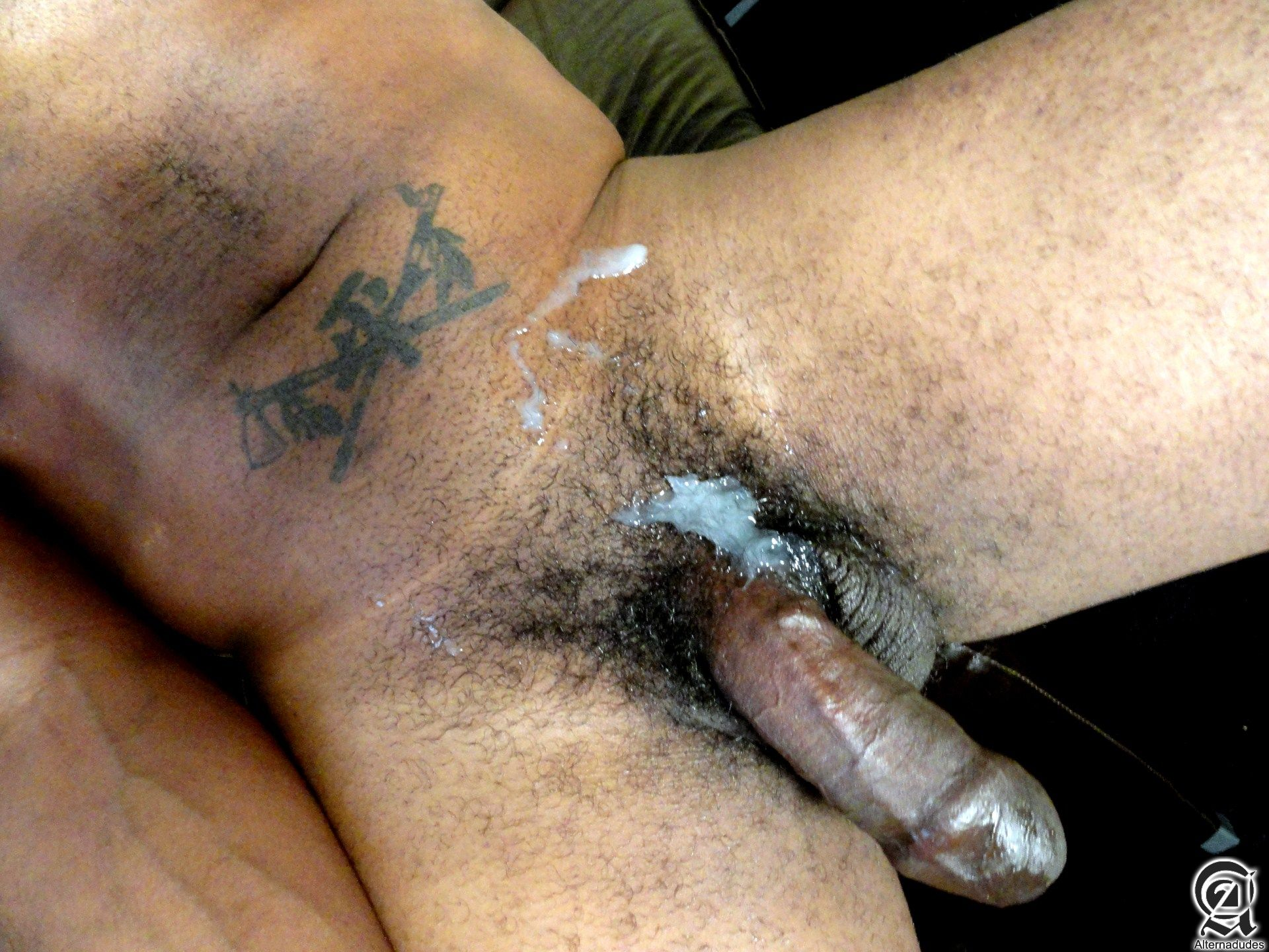 cock penis uncut dick Black