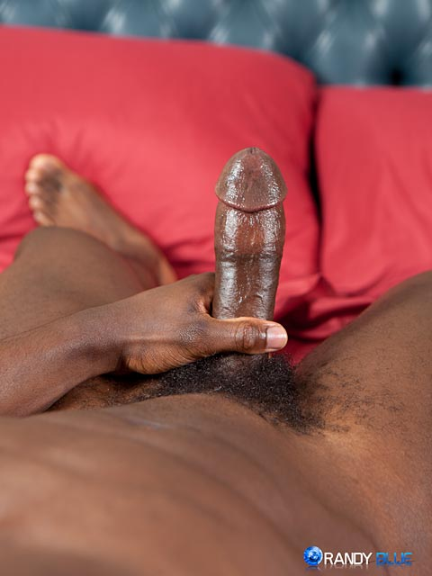 Randy Blue Sam Jose Black Guy Stroking His Big Black Cock Amateur Gay Porn 12 Amateur Muscle Black Guy Jerks His Big Black Thick Cock With A Fleshjack