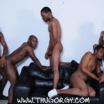Thug Orgy Brooklyn Bounce Intrigue Kash Mr Wayne Young Buck Black Thugs Fucking Amateur Gay Porn 01 150x150 Thug Orgy:  One Lucky Player Gets A Bukkake Face Full Of Thug Cum