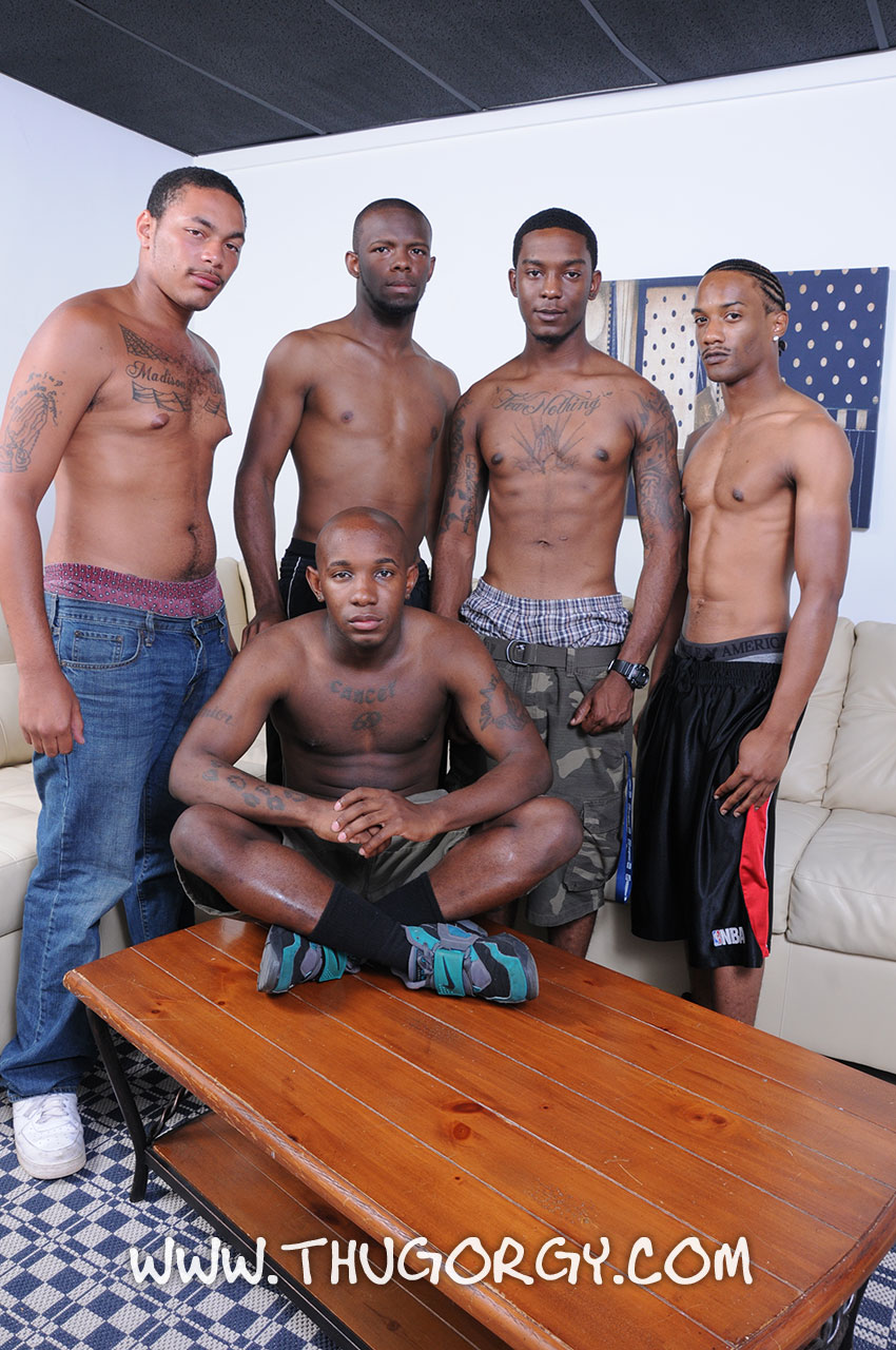 Gay Cock Sucking Orgy Porn - ThugOrgy-Angel-Boi-Intrigue-Kash-Mr-Magic-Ramon-