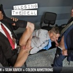 Lucas Entertainment Sean Xavier and Hans Berlin and Colden Armstrong Interracial Gay Orgy Amateur Gay Porn 10 150x150 Going For A Job Interview And Taking 2 Huge Cocks Up The Ass