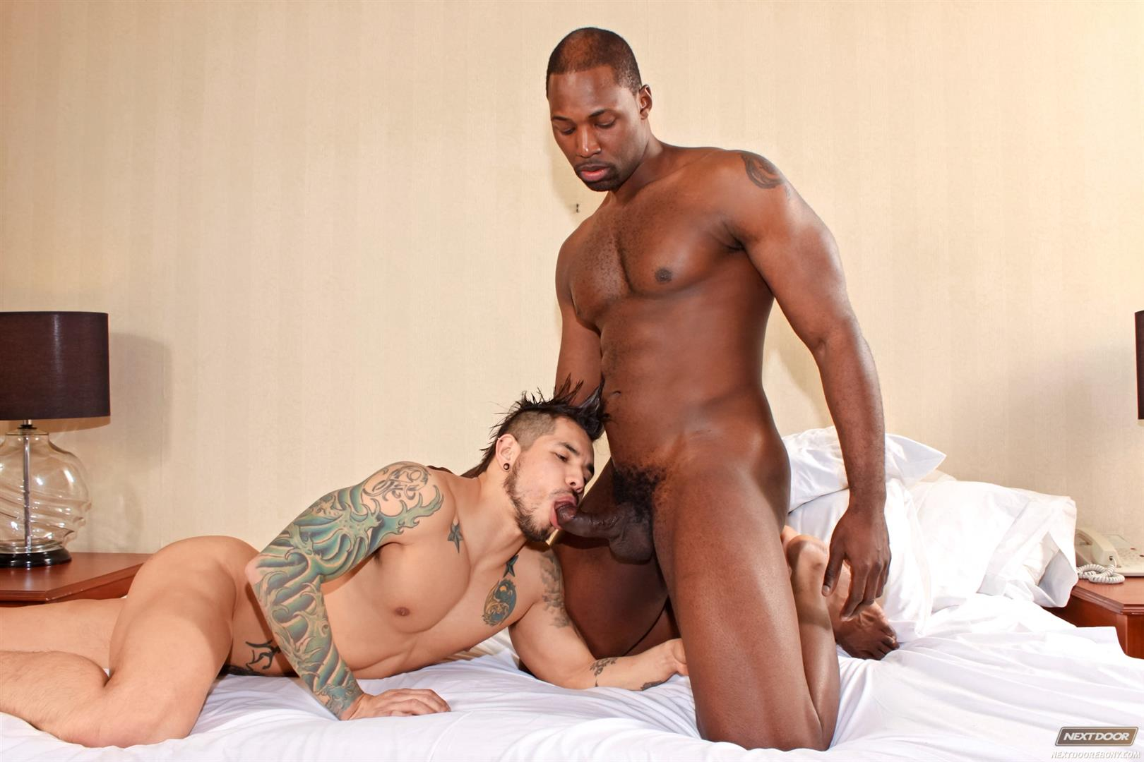 Next-Door-Ebony-Nubius-and-Draven-Torres-Big-Black-Cock-Fucking-Tight-Latino-Ass-Amateur-Gay-Porn-09 Big Black Bull Fucks A Young Latino Hipster With His Big Black Cock