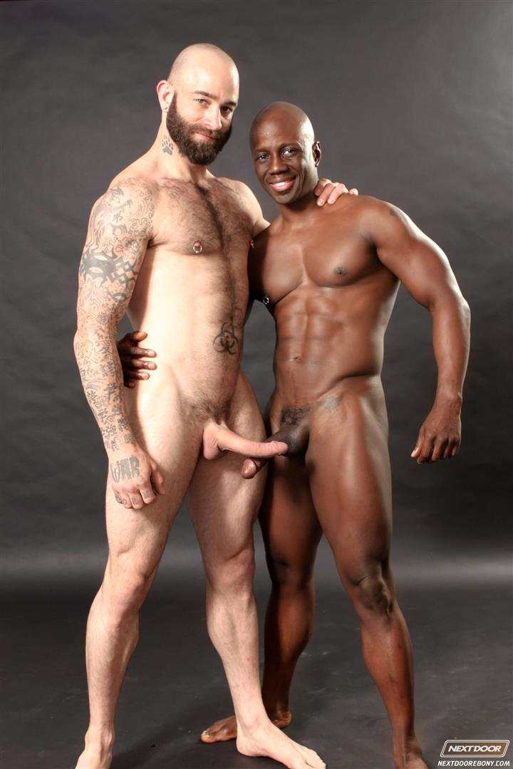 Black guys love white cock