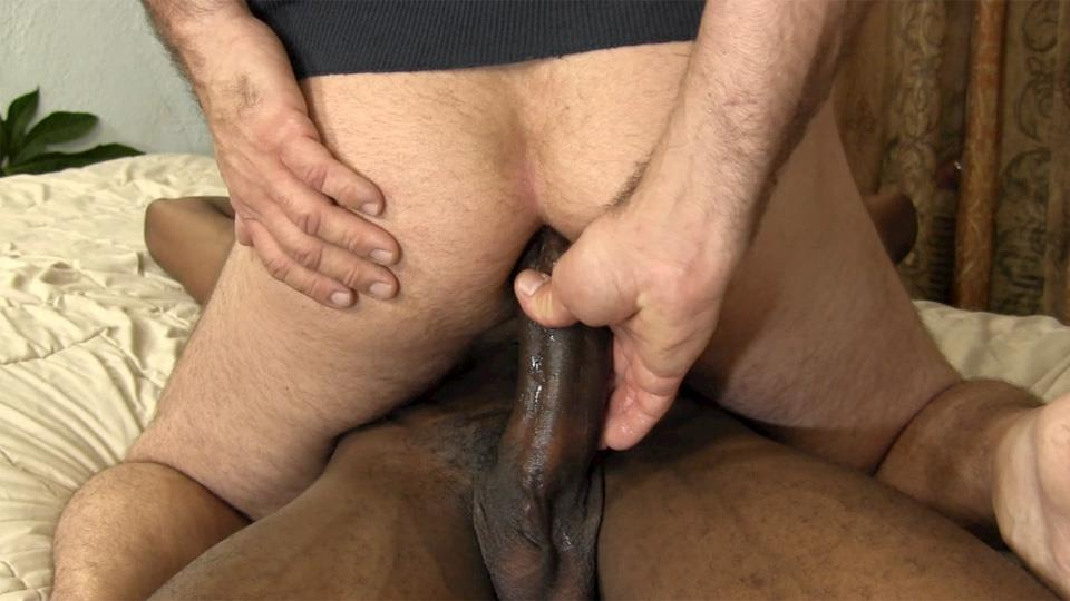 Large cock homosexual urinate with cream flow