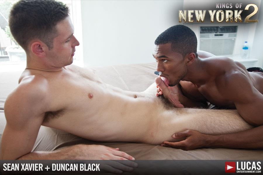 Lucas-Entertainment-Kings-Of-New-York-Season-2-Sean-Sean-Xavier-and-Duncan-Black-Interracial-Fucking-Big-Black-Cock-Amateur-Gay-Porn-03 White Hunk Takes A 12