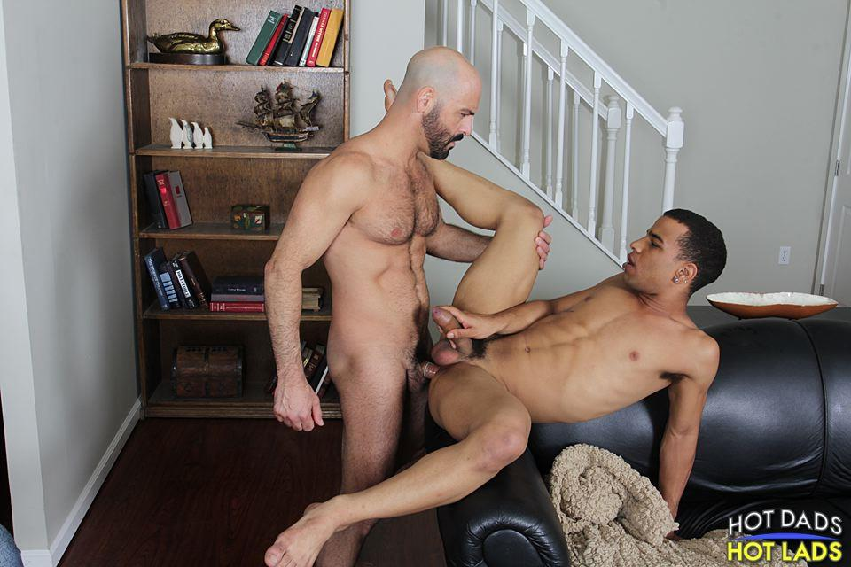 Hot-Dads-Hot-Lads-Adam-Russo-and-Trelino-Hairy-Muscle-Daddy-Fucks-A-Young-Black-Ass-Amateur-Gay-Porn-17 Sexy Hairy Muscle Daddy Fucks A Tight Young Black Ass