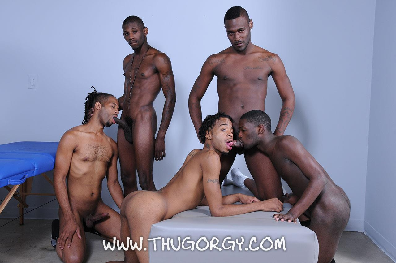 Thug-Orgy-Steel-Lil-Boo-Virgo-da-Beast-Galaxy-and-Tonka-Toye-Big-Black-Cock-Orgy-Amateur-Gay-Porn-10 Massages Turn Into A Full Blown Big Black Cock Thug Orgy