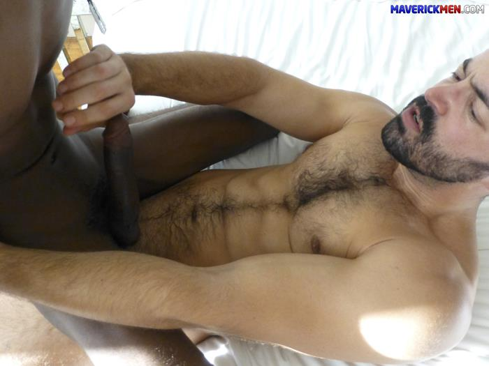 Barebacked black amateur