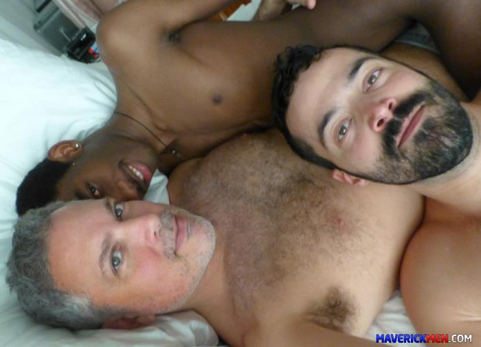 Maverick Men Black Boy Chris Ryder Gets Barebacked By Hairy Muscle Daddies Amateur Gay Porn 4 Maverick Men Bareback Tag Team & Double Penetrate A Black Twinks Ass