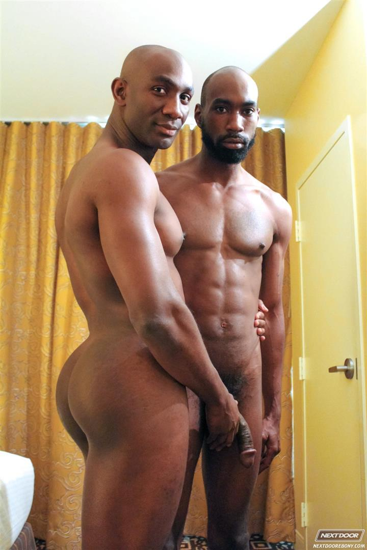 ebony black gay video