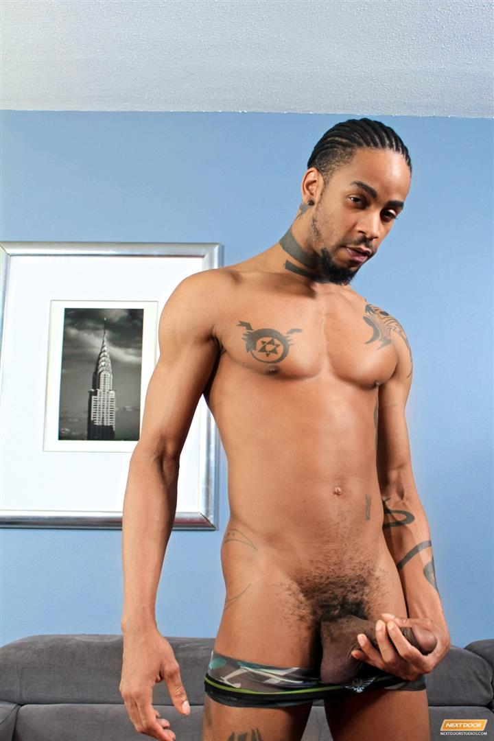 Next-Door-Ebony-Jin-Powers-Big-Black-Cock-Ghetto-Cock-Amateur-Gay-Porn-13 Jin Powers Jerks His Big Black Ghetto Cock