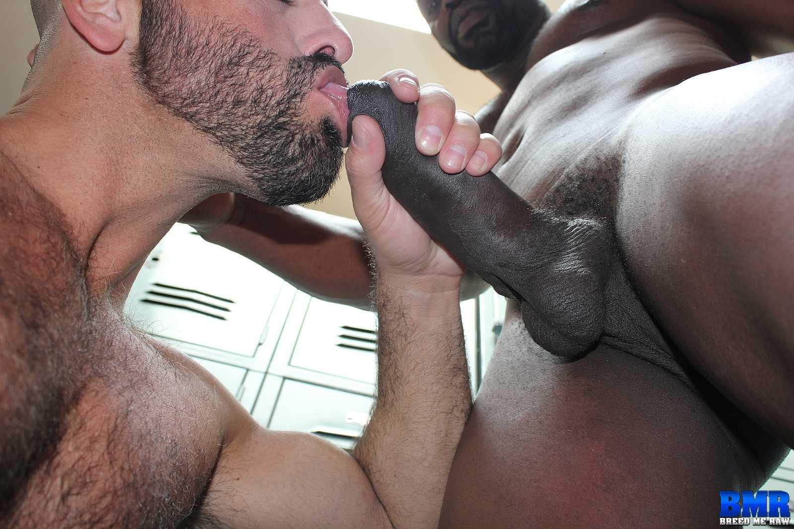 Breed Me Raw Cutler X and Adam Russo Black Guy With Big Black Cock Barebacking White Guy Amateur Gay Porn 03 Real Life Boyfriends Cutler X Barebacking Adam Russo