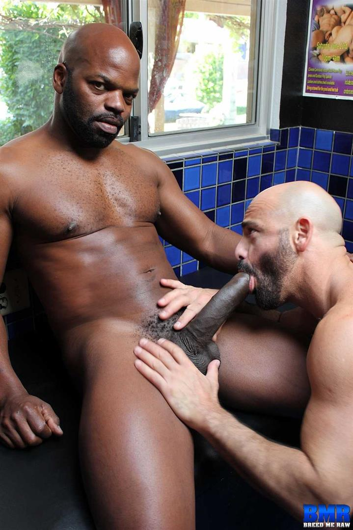 Black gay raw dick