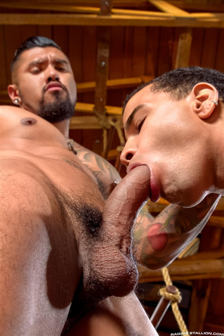 Raging Stallion Boomer Banks and Trelino Huge Uncut Cock Fucking A Black Ass Amateur Gay Porn 01 Young Black Guy Takes Boomer Banks Huge Uncut Cock Up The Butt