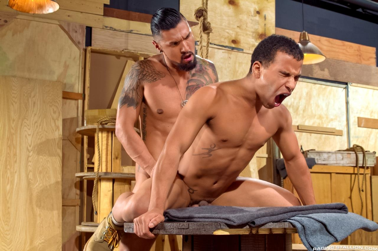 Raging Stallion Boomer Banks and Trelino Huge Uncut Cock Fucking A Black Ass Amateur Gay Porn 10 Young Black Guy Takes Boomer Banks Huge Uncut Cock Up The Butt