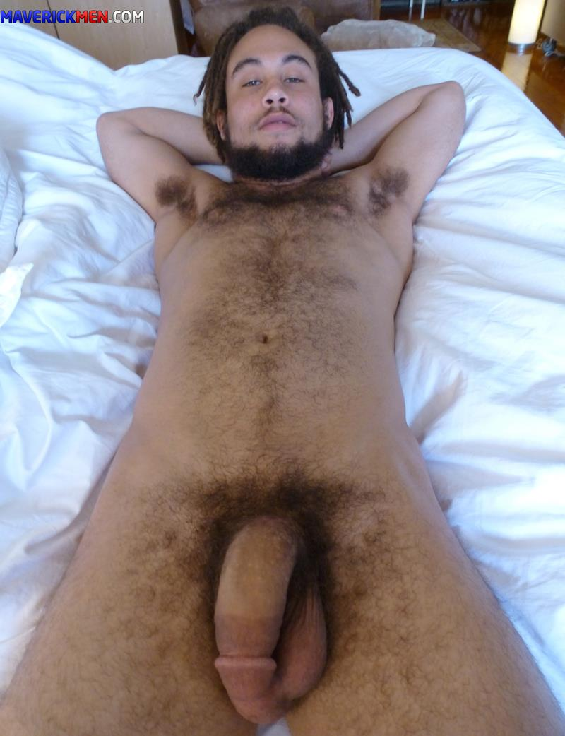 Maverick-Men-Dirk-Interracial-Bareback-Fucking-Big-Cocks-Amateur-Gay-Porn-3 Amateur Bisexual Hairy Mixed Guy Takes Two Raw Loads Up The Butt