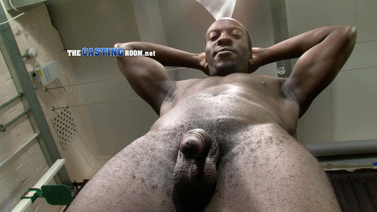 The Casting Room Troy Straight Black Guy Jerking His Big Black Uncut Cock Amateur Gay Porn 09 Straight Black Man WIth A Big Uncut Cock Auditions For Gay Porn