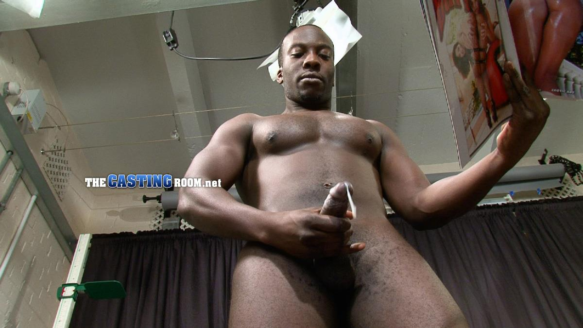 Black Guy Amateur Wanking