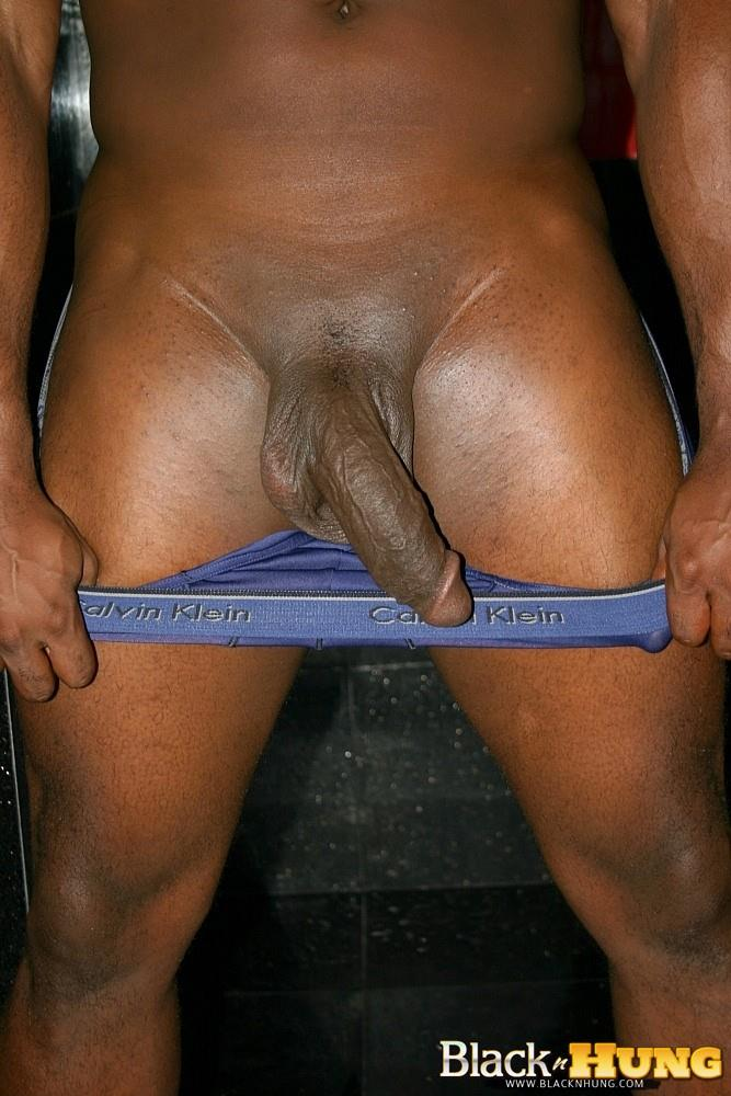 Black N Hung D Total Package Black Muscle Thug Jerking His Thick Black Cock Amateur Gay Porn 11 Black Muscle Thug Jerking Off His Thick Black Cock