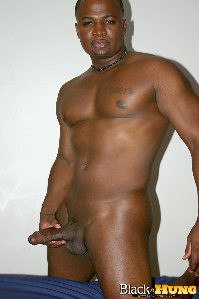 Men hung naked black