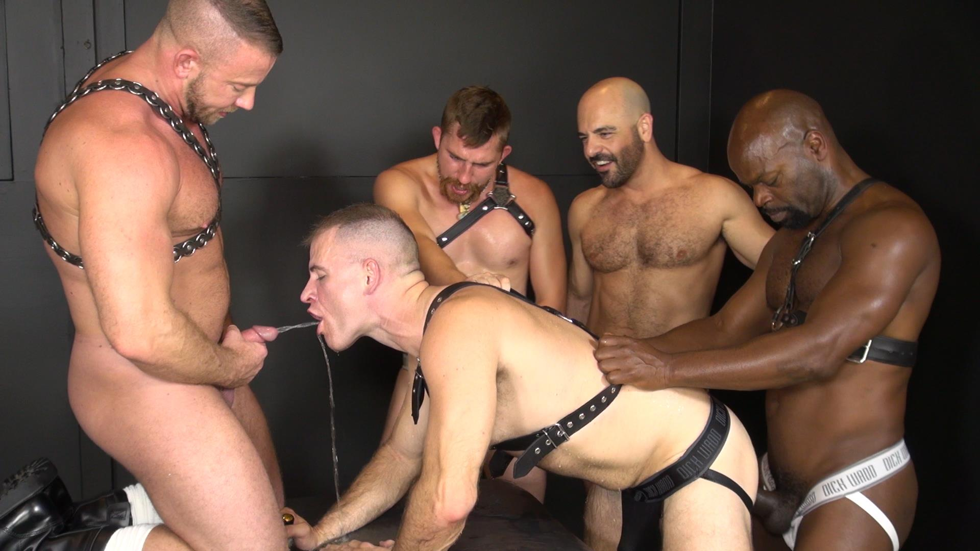 gay bedroom orgy amateur