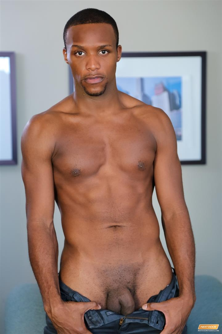 Juicy black gay cock