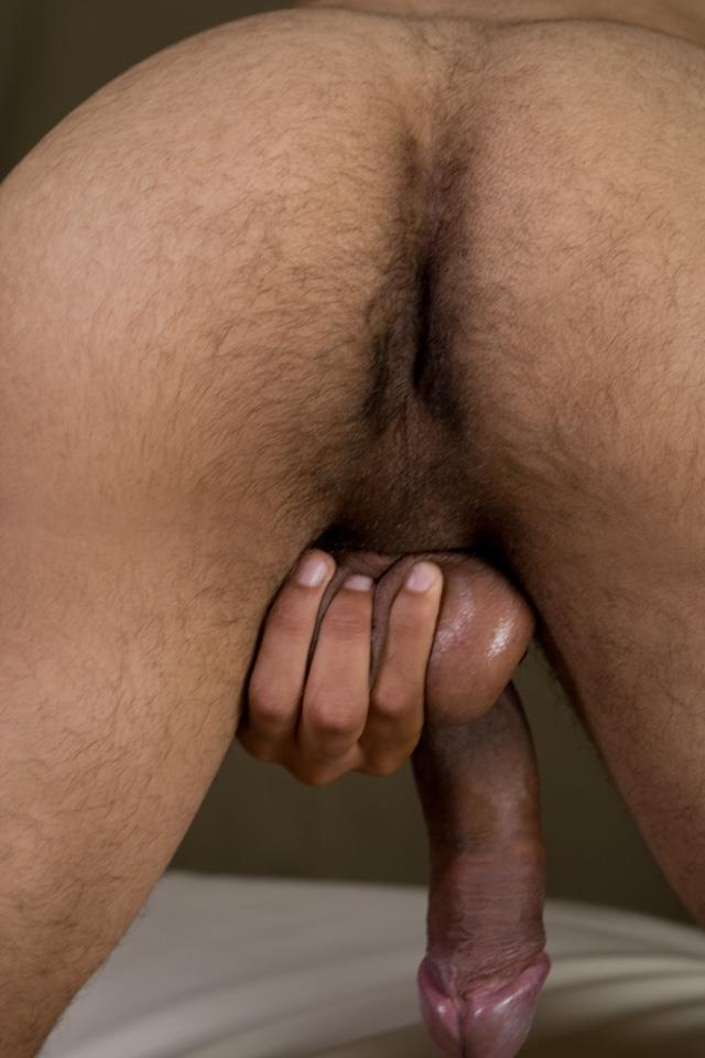 Southern-Strokes-Wesley-Black-Twink-With-A-Big-Black-Uncut-Cock-Amateur-Gay-Porn-13 Black Texas Twink Jerking Off His Big Black Curved Cock