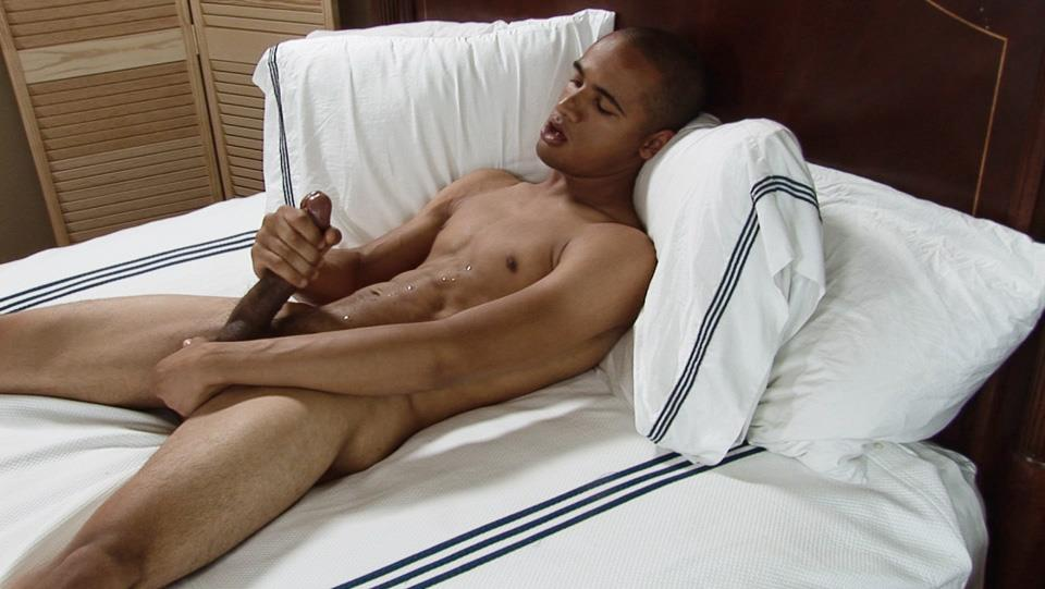 Southern-Strokes-Wesley-Black-Twink-With-A-Big-Black-Uncut-Cock-Amateur-Gay-Porn-19 Black Texas Twink Jerking Off His Big Black Curved Cock
