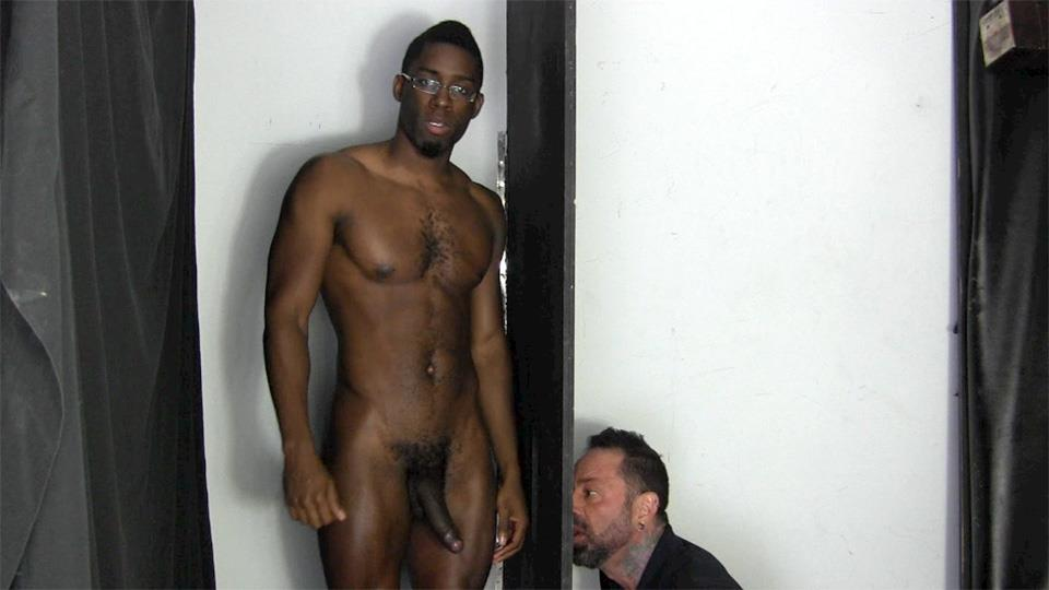 Young Ebony Teen Sucking Dick