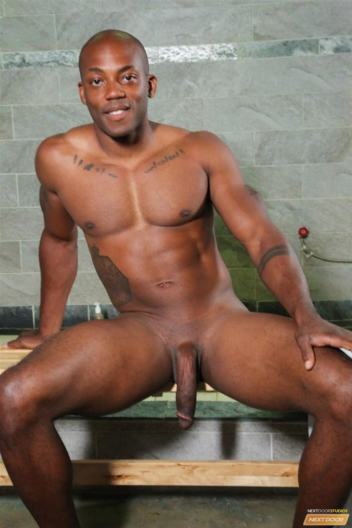 ebony locker room porn