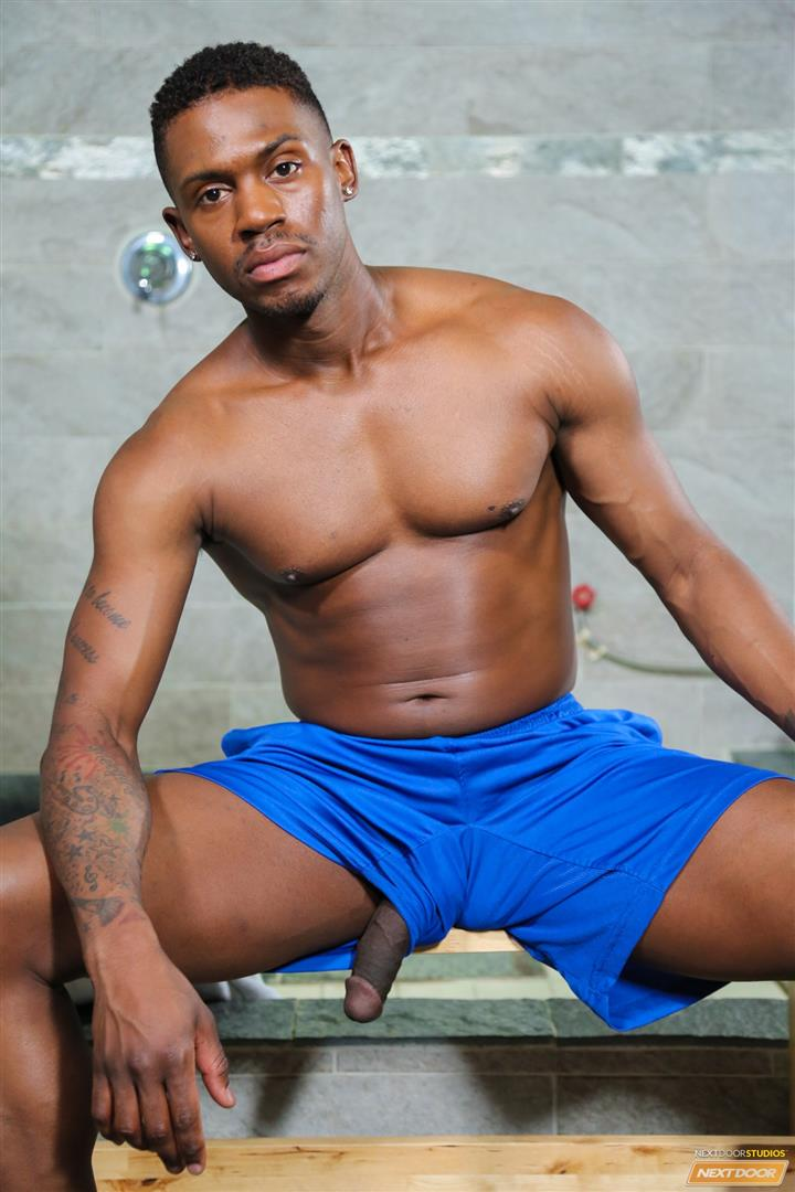 Next Door Ebony Krave Moore and Osiris Blade Big Black Cocks Dicks Fucking Amateur Gay Porn 05 Muscular Black Guys Take Turns Fucking Each Other In The Locker Room