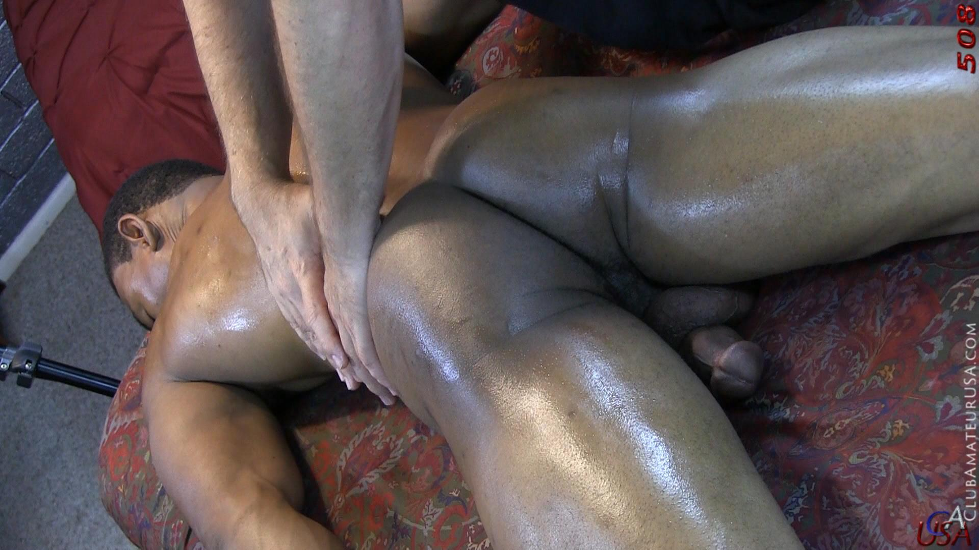 Black gay male massage