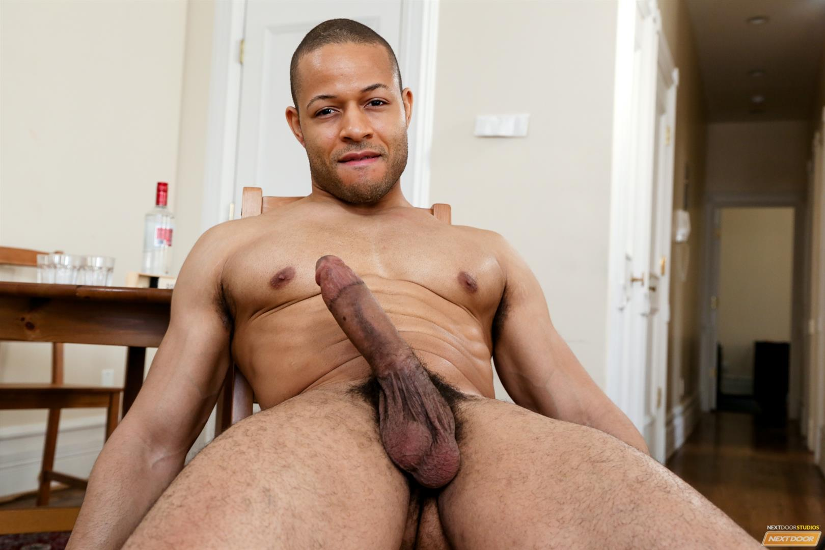 Black men cumming hard