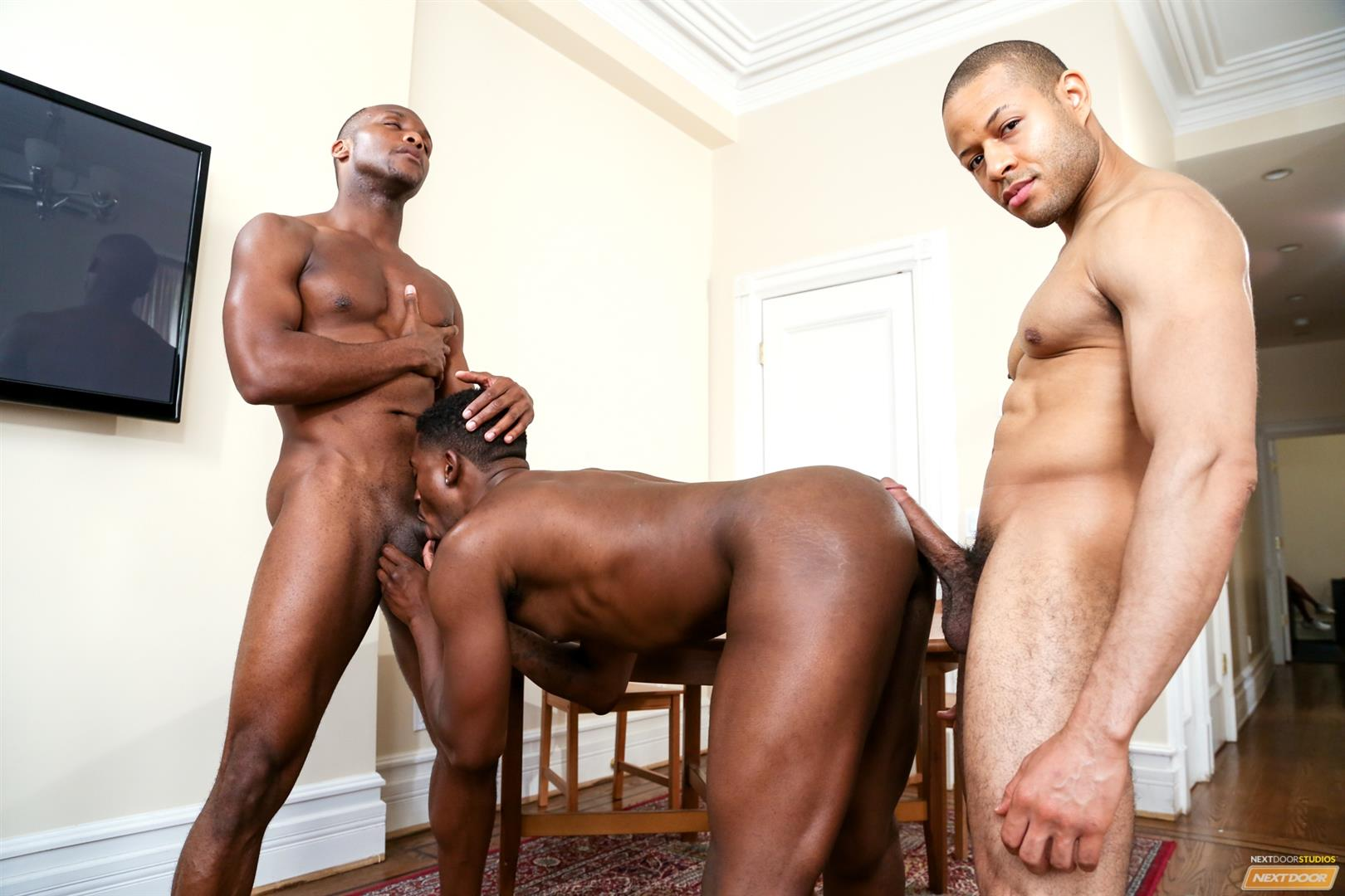 Big gay black guys fuck midget and males