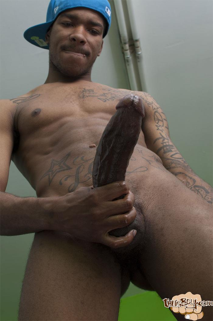 Big Black Dick Man Photo