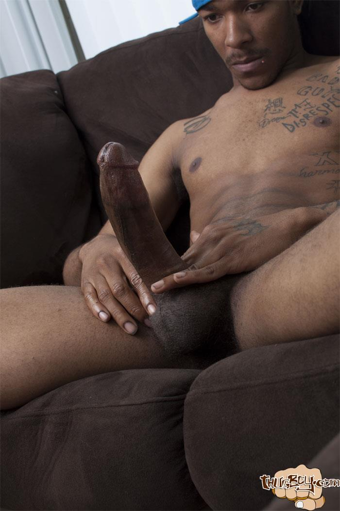 Big black dick thug
