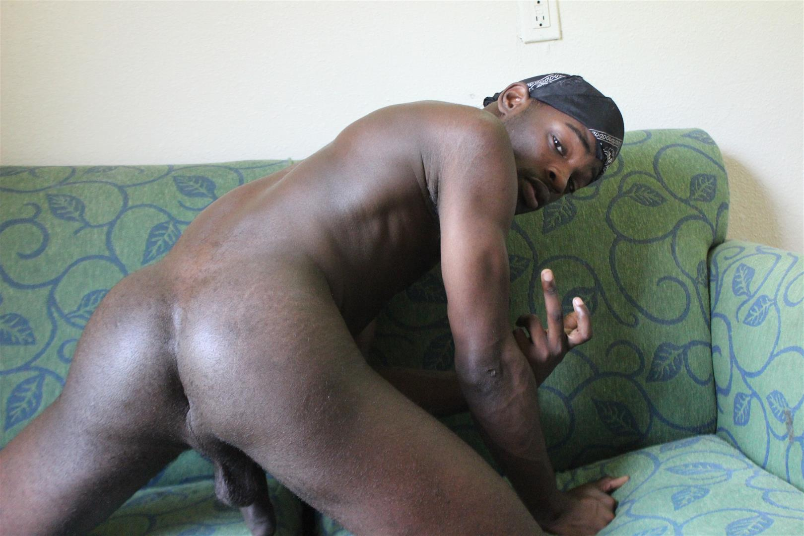 Big dick black gay thug bareback
