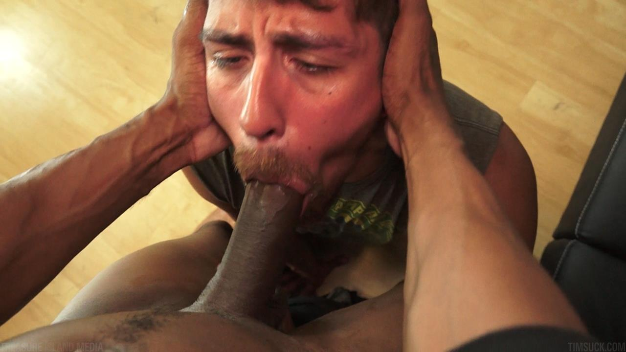 Amateur gay balck cock sucking