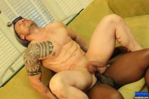 raw breeding Interracial gay bareback