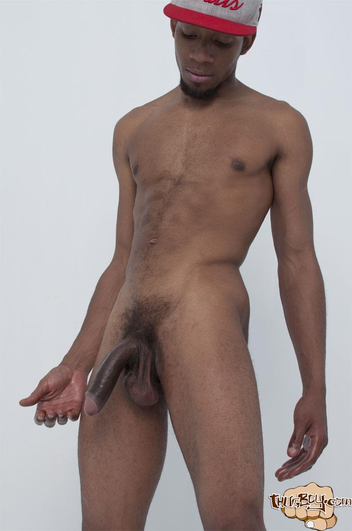 Thug-Boy-Frost-Big-Black-Thug-Cock-Jerking-Off-Amateur-Gay-Porn-25 Young Chicago Thug Boy Jerks His Big Black Cock