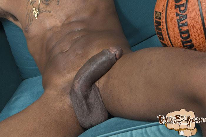 Thug Boy Tyrelle Big Black Uncut Cock Jerk Off Amateur Gay Porn 27 Thug Boy Tyrelle Strokes His Big Black Uncut Cock