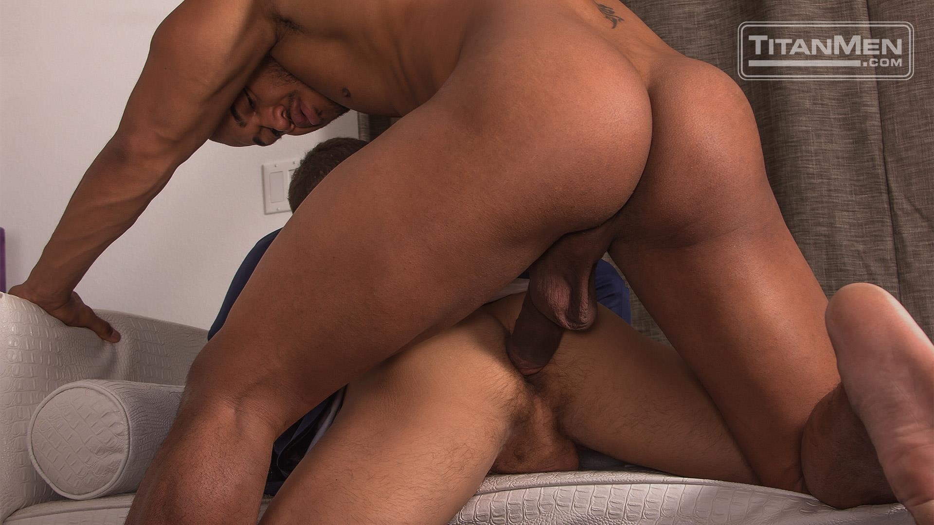 Titan Men Jason Vario and Alex Graham Thick Big Black Uncut Cock Free Gay Porn 27 Getting Fucked By A Really Thick Uncut Big Black Cock