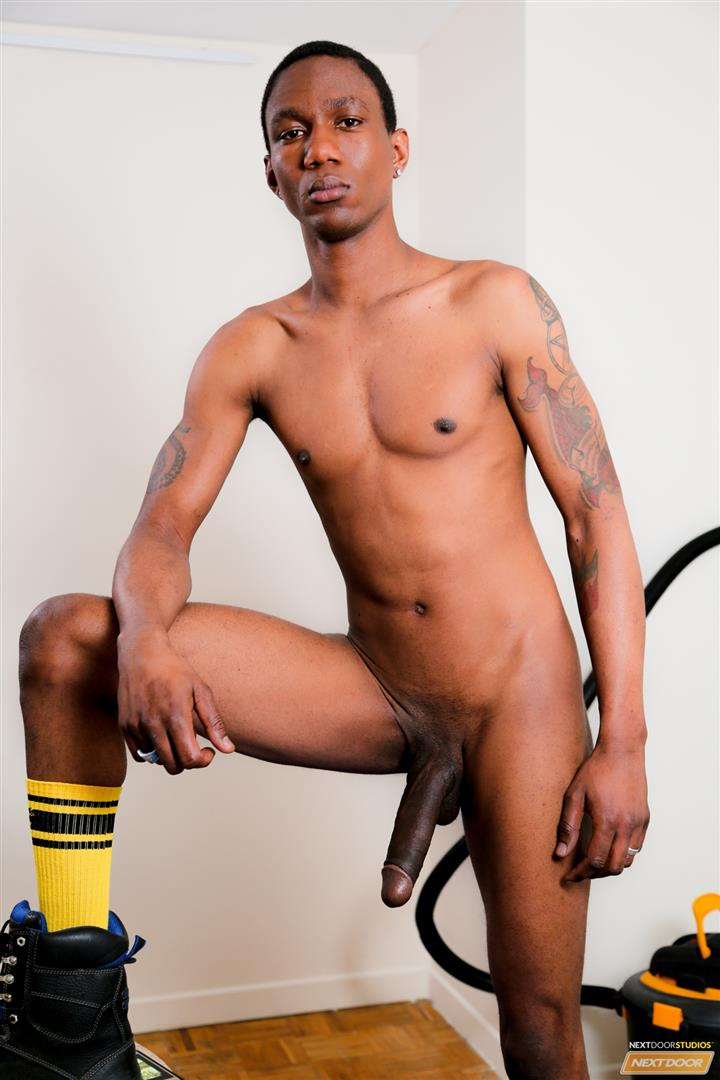 Next-Door-Ebony-Ray-Boy-With-A-Big-Uncut-Black-Dick-Jerk-Off-Free-Gay-Porn-10 Smooth Black Boy Playing With His Big Black Uncut Cock