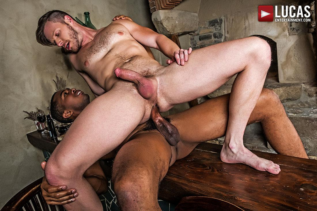 Lucas Entertainment Brian Bonds and Sean Xavier Big Black Horse Cock Bareabck 10 Brian Bonds Takes Sean Xaviers Big Black Horse Cock Bareback