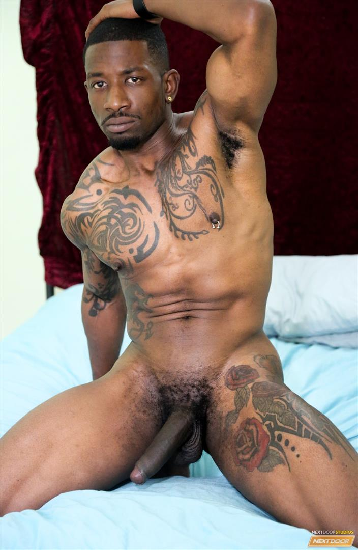 Next Door Ebony Muscular Black Guys Fucking Free Gay Sex Video 03 A Hard Morning Fuck With Two Hung Black Lovers