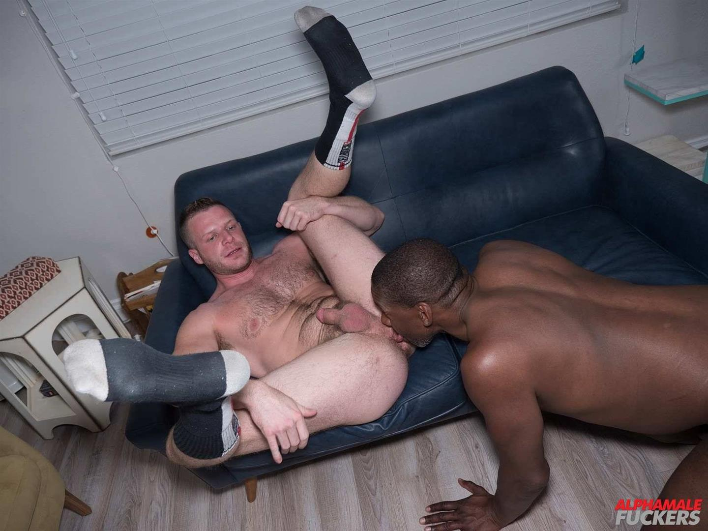 Alpha-Male-Fuckers-Jack-Simmons-and-Brian-Bonds-Interracial-bareback-gay-sex-20 Brian Bonds Takes A Big Black Cock Up The Ass Bareback