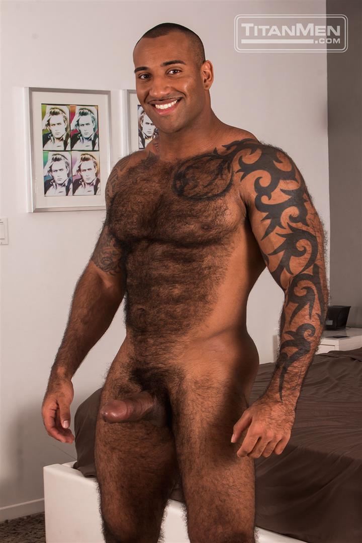 from Jabari gay hairy musled men