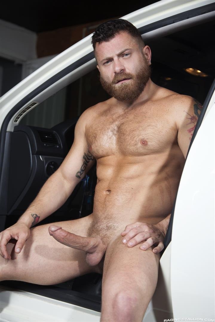 Gaywire painfully homosexual butthole banging out in public carwash