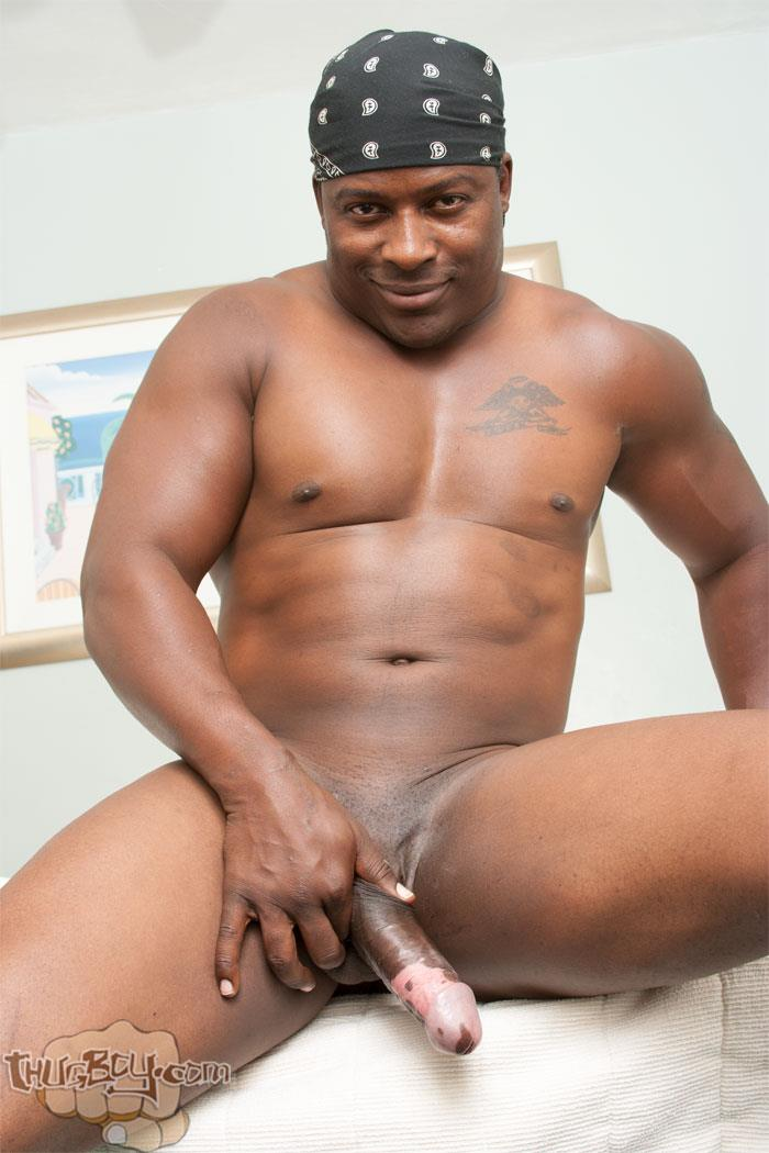 Thug Boy Danger Naked College Football Player Jerking off His Big Black  Uncut Cock 15